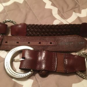 Brighton Accessories - Brighton brown leather belt